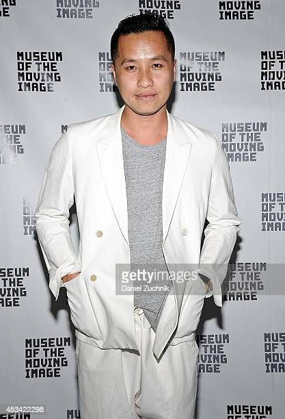 """Fashion Designer Phillip Lim attends the """"Sunset Edge"""" New York Premiere at Museum of the Moving Image on August 9, 2014 in the Queens borough of New..."""