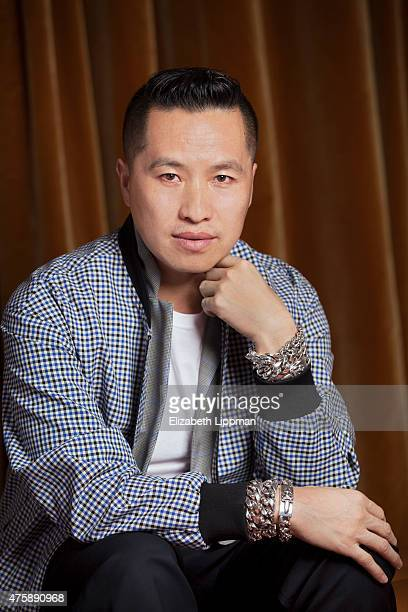 Fashion designer Phillip Lim is photographed for New York Times on January 28, 2015 in New York City.