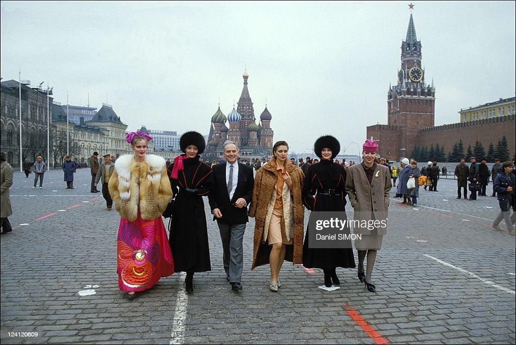 Fashion designer Pierre Cardin presents his collection in Moscow,... News  Photo - Getty Images