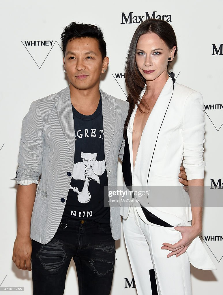 Fashion designer Prabal Gurung and Barbara Bush attend the Max Mara, celebration of the opening of The Whitney Museum Of American Art at its new location on April 24, 2015 in New York City.