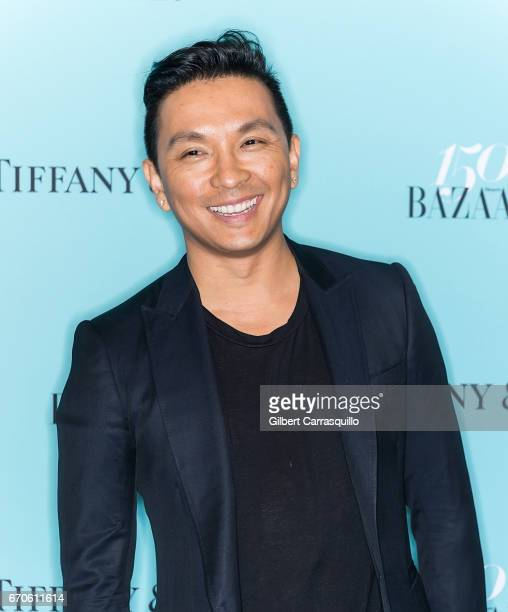 Fashion designer Prabal Gurung attends Harper's BAZAAR 150th Anniversary Event presented with Tiffany Co at The Rainbow Room on April 19 2017 in New...