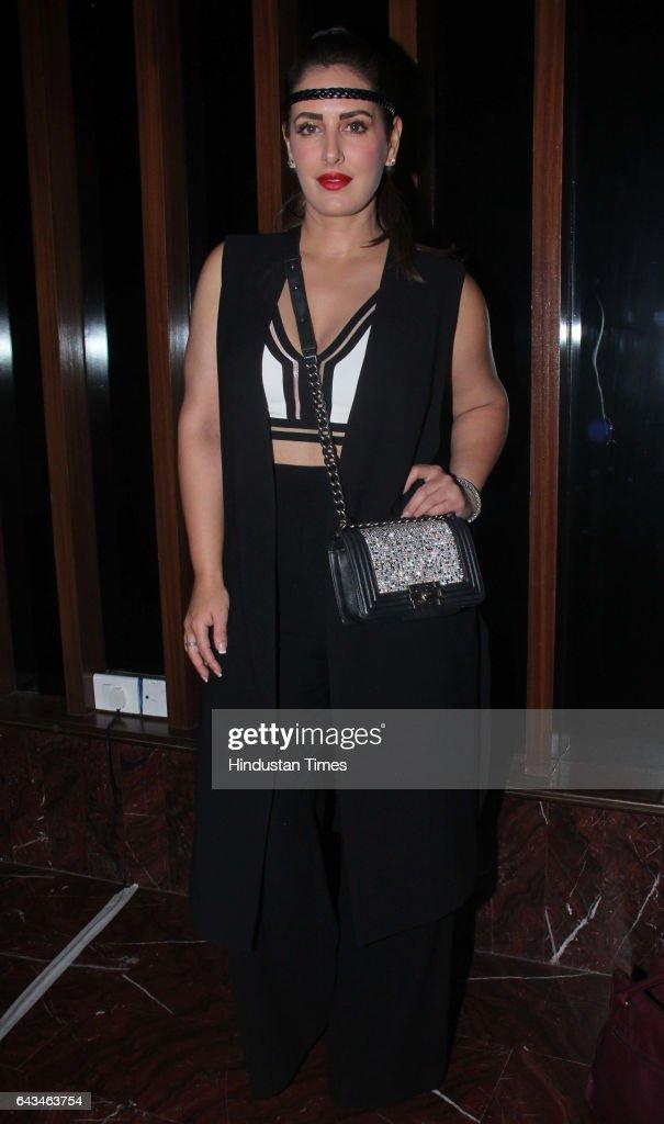 Fashion Designer Pria Kataria Puri During The Fashion Designer Masaba News Photo Getty Images