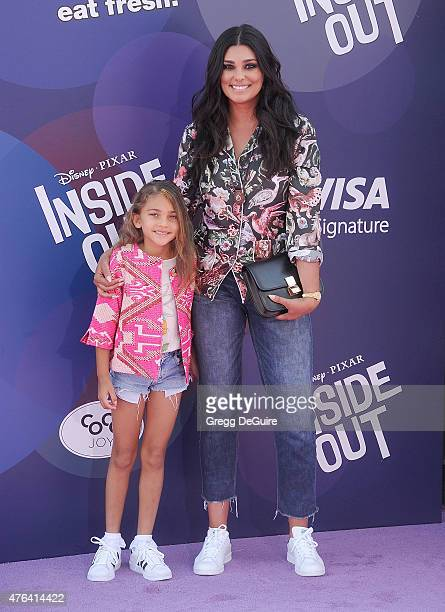 Fashion designer Rachel Roy and daughter Tallulah Ruth Dash arrive at the Los Angeles premiere of Disney/Pixar's Inside Out at the El Capitan Theatre...