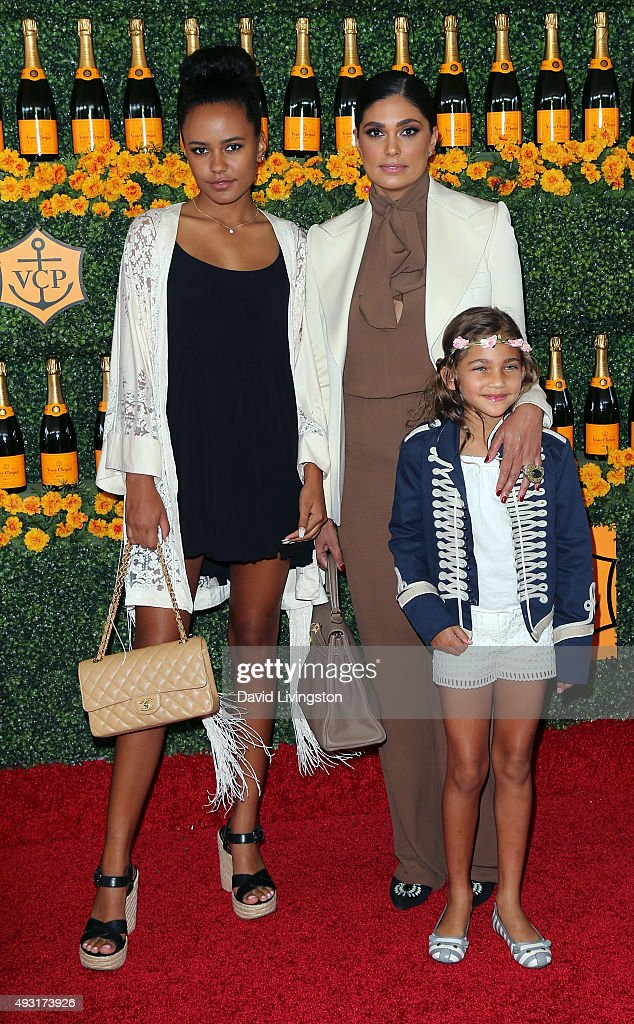 Fashion designer Rachel Roy and daughters Ava Dash and