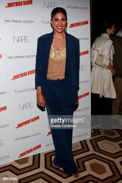 Fashion designer Rachel Roy attends a screening of The Brothers Bloom hosted by the Cinema Society with Thakoon and Nars at the Tribeca Grand...