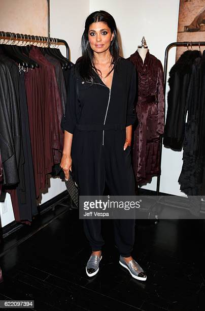Fashion designer Rachel Roy attends the Urban Zen LA Opening on November 9 2016 in Los Angeles California