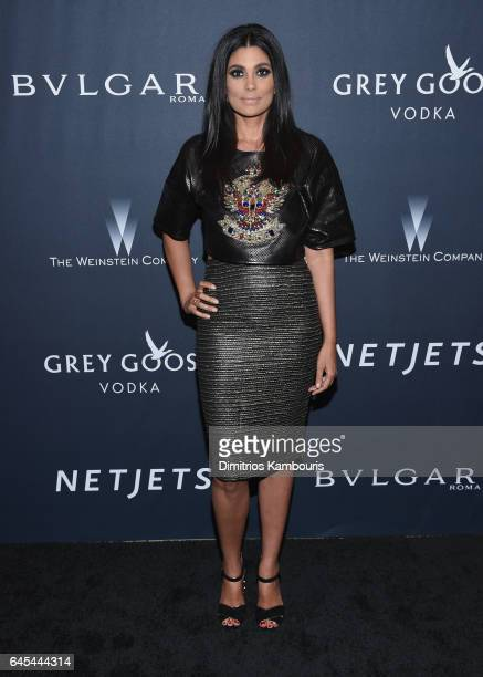 Fashion designer Rachel Roy attends The Weinstein Company's PreOscar Dinner in partnership with Bvlgari and Grey Goose at Montage Beverly Hills on...