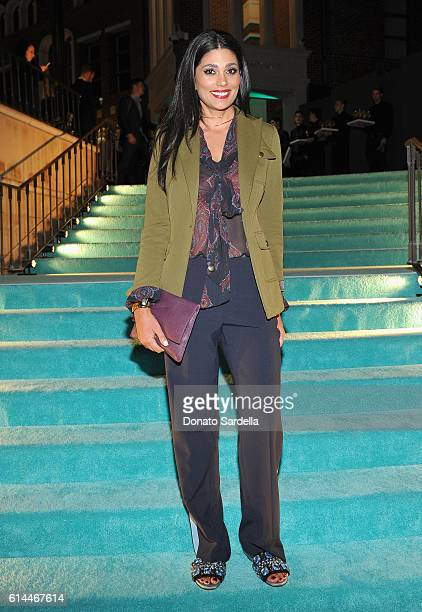 Fashion designer Rachel Roy attends Tiffany Co's unveiling of the newly renovated Beverly Hills store and debut of 2016 Tiffany masterpieces at...