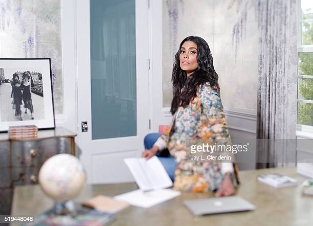 Fashion designer Rachel Roy is photographed for Los Angeles Times on March 11 2016 in Los Angeles California PUBLISHED IMAGE CREDIT MUST READ Jay L...