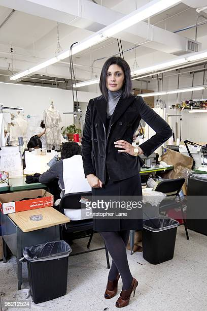 Fashion designer Rachel Roy poses for a portrait session in New York City in 2009