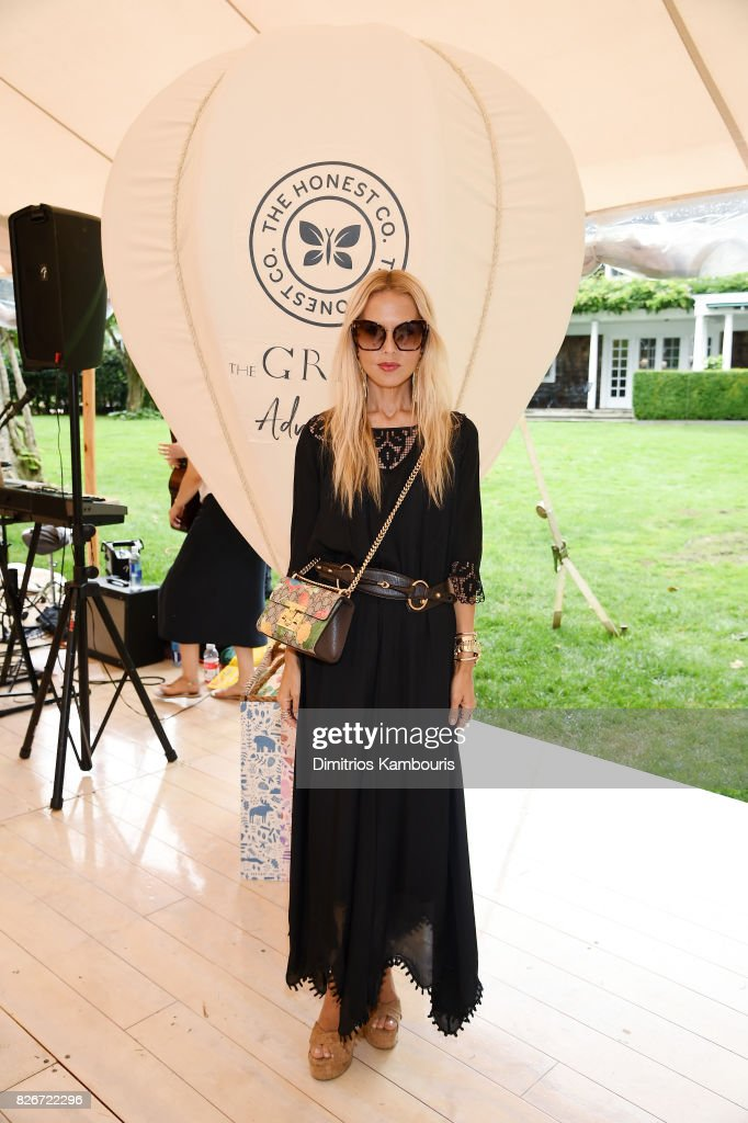 Fashion designer Rachel Zoe attends as the Honest Company and The GREAT. celebrate The GREAT Adventure on August 5, 2017 in East Hampton, New York.