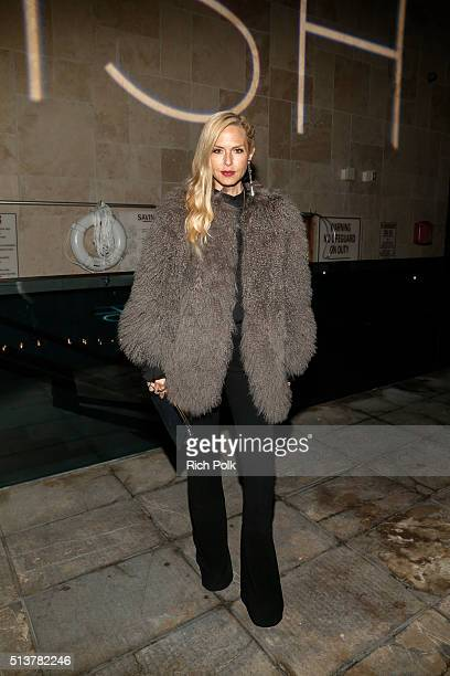Fashion Designer Rachel Zoe attends the FabFitFun and Joey Maalouf's ISH Launch Party at Above SIXTY Beverly Hills on March 3 2016 in Beverly Hills...