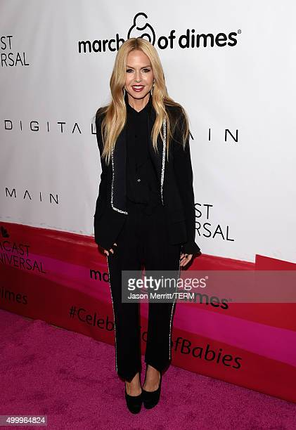 Fashion designer Rachel Zoe attends the March Of Dimes Celebration Of Babies Luncheon honoring Jessica Alba at the Beverly Wilshire Four Seasons...