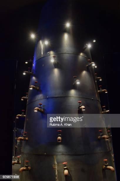 Fashion designer Rajesh Pratap Singh's water tap installation as an alchemist of touch at the second edition of Chivas Alchemy celebrates the light...