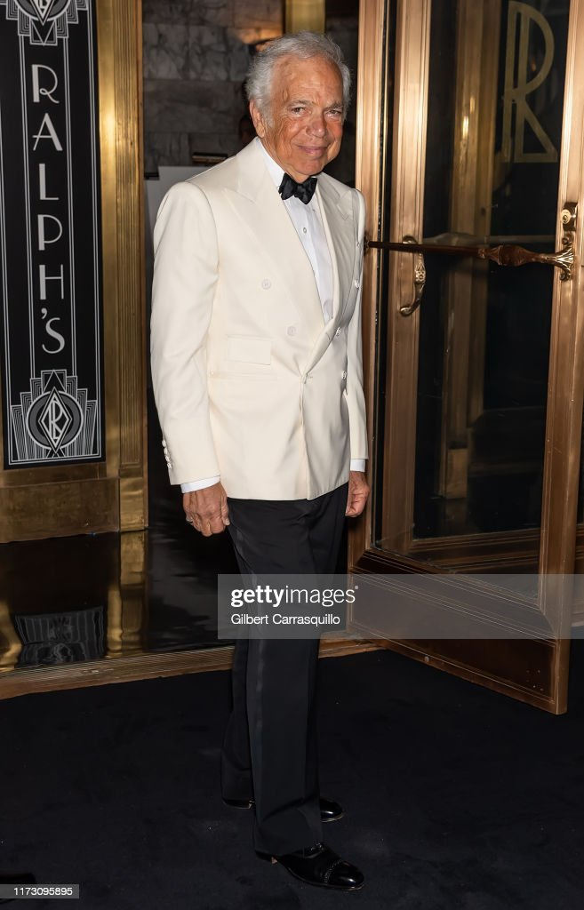 Fashion Designer Ralph Lauren Is Seen Arriving To Ralph Lauren News Photo Getty Images