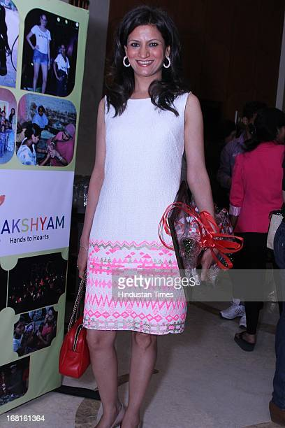 Fashion designer Ranna Gill at the Annual Charity event Fashion For A Cause organized by NGO Lakshyam to help unprivileged children at Crowne Plaza...
