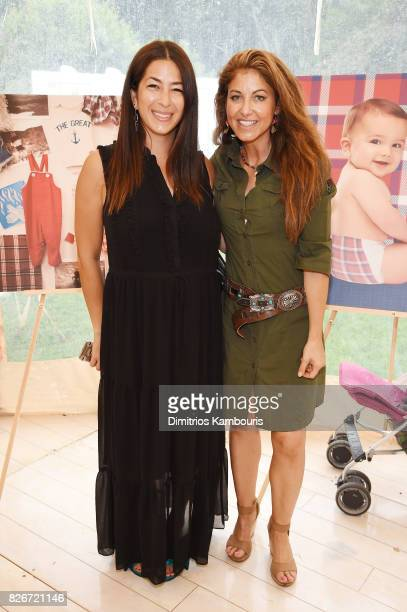 Fashion designer Rebecca Minkoff and Dylan Lauren attend as the Honest Company and The GREAT celebrate The GREAT Adventure on August 5 2017 in East...