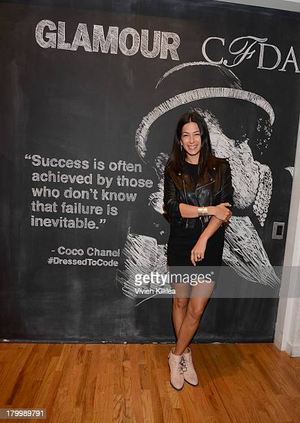 Fashion designer Rebecca Minkoff attends Glamour And CFDA Host Dressed To Code A Fashion Hackathon on September 7 2013 in New York City