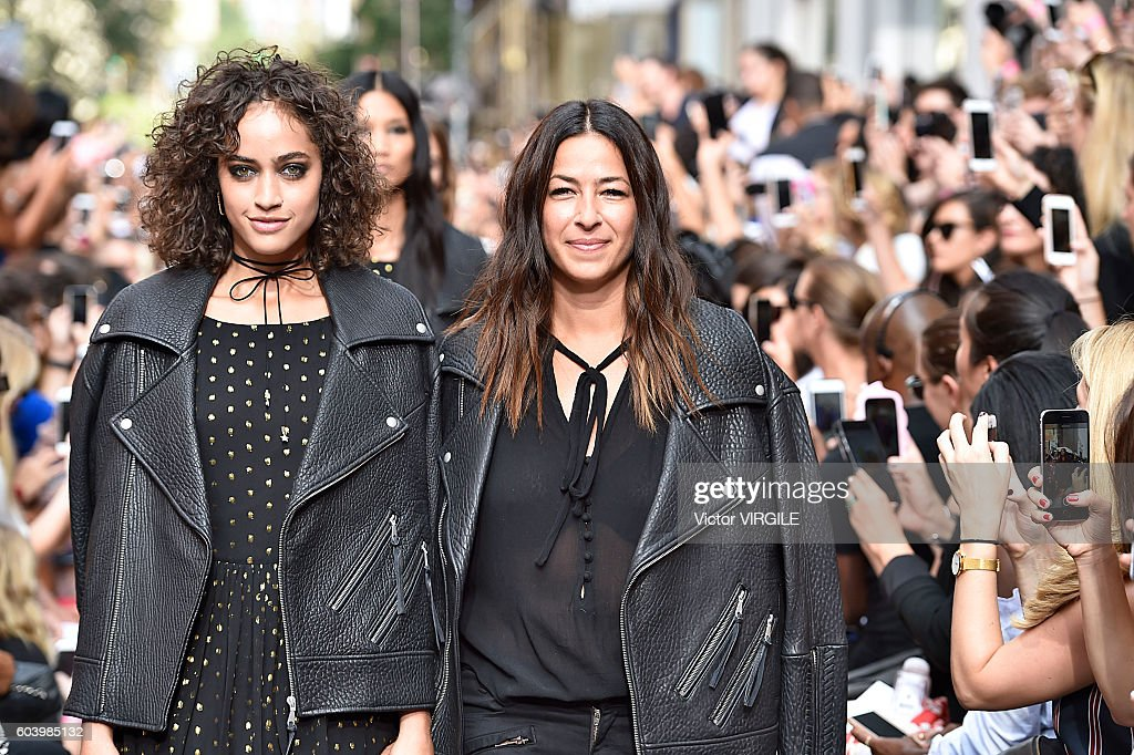 Fashion designer Rebecca Minkoff walks the runway at the Rebecca Minkoff Ready to Wear Spring Summer 2017 fashion show during September 2016 - New York Fashion Week on September 10, 2016 in New York City.