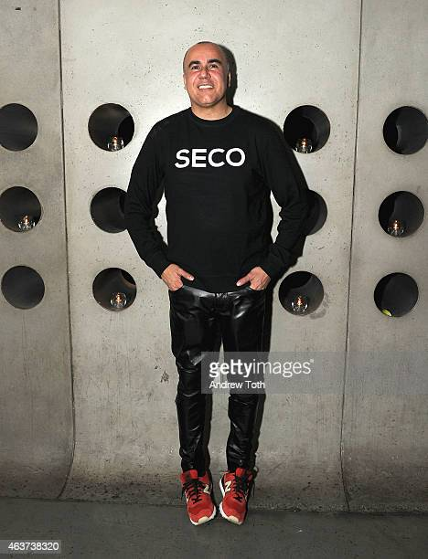 Fashion Designer Ricardo Seco attends the Alacran Cristal debut during NYFW at Hotel Americano on February 17 2015 in New York City