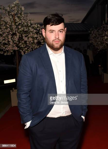 Fashion designer Richard Quinn attends the 2nd annual Jersey Style Awards in association with Bentley Motors, Chopard and Ortac Aviation to celebrate...
