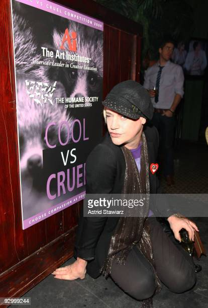 Fashion designer Richie Rich attends The Humane Society of the United States & The Art Institute's Fifth Annual Cool vs. Cruel Awards Ceremomy at The...