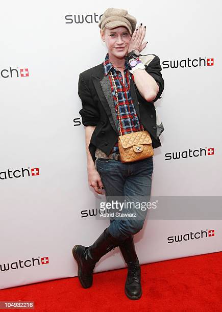 Fashion designer Richie Rich attends the launch of the Swatch 'New Gents Collection' at the Gansevoort Park Avenue on October 6 2010 in New York City