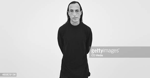 Fashion designer Rick Owens is photographed on the October 8 2014 in New York City