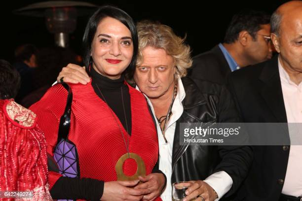 Fashion Designer Rohit Bal during an annual dinner party on Valentine's Day eve hosted by authorcolumnist Bhaichand Patel on February 14 2017 in New...