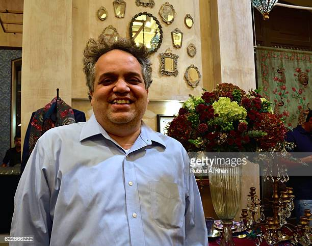 Fashion designer Sandeep Khosla at the launch of Rohit Bal's first home collectibles and apparel line called HusnETaairaat at Good Earth on November...