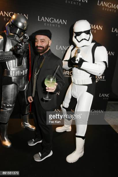 Fashion designer Simon Azoulay attends the Star Wars Party at Le Saint Fiacre on December 12 2017 in Paris France