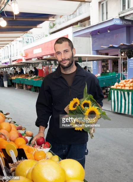 Fashion designer Simon Porte Jacquemus is photographed for Madame Figaro on September 8 2017 in Paris France PUBLISHED IMAGE CREDIT MUST READ Robert...