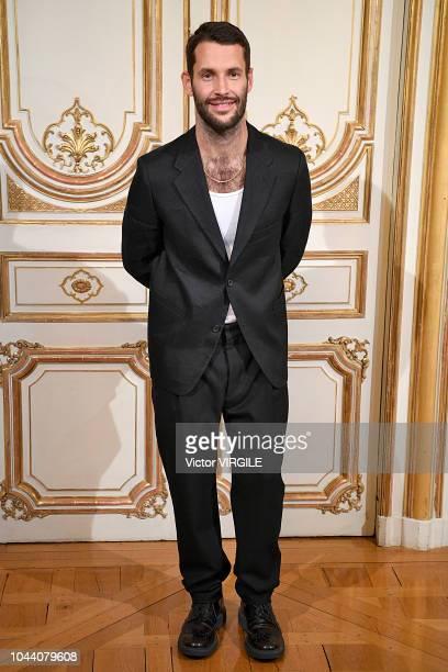 Fashion designer Simon Porte Jacquemus walks the runway during the Jacquemus Ready to Wear fashion show as part of the Paris Fashion Week Womenswear...