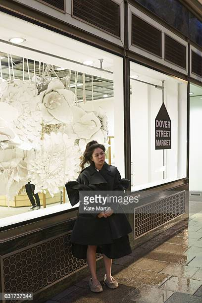 Fashion designer Simone Rocha is photographed on January 29 2015 in London England