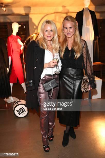 Fashion designer Sonja Kiefer and Princess Nadja Anna zu SchaumburgLippe during the InStyle meets RIANI Dinner at Garden Restaurant / Hotel...
