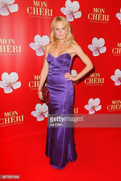 Fashion designer Sonja Kiefer attends the Mon Cheri Barbara Tag at Postpalast on December 2 2016 in Munich Germany