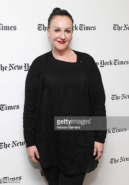 Fashion designer Sophie Theallet attends the New York Times Vanessa Friedman and Alexandra Jacobs welcome party on September 3 2014 in New York City