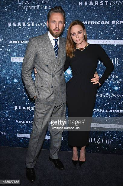 Fashion designer Stella McCartney and Alasdhair Willis attend 2014 Women's Leadership Award Honoring Stella McCartney at Alice Tully Hall at Lincoln...
