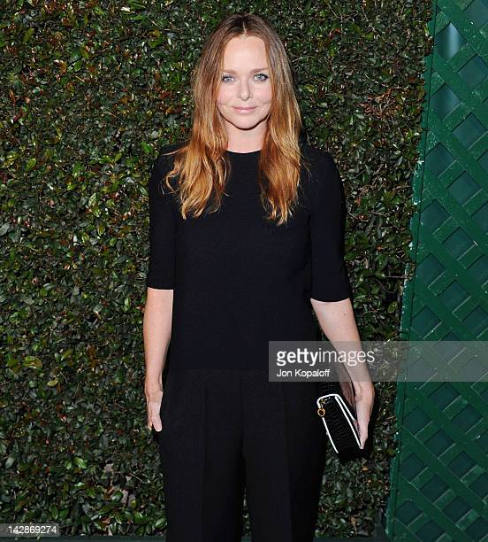 Fashion designer Stella McCartney arrives at the World Premiere of 'My Valentine' at Stella McCartney on April 13 2012 in West Hollywood California