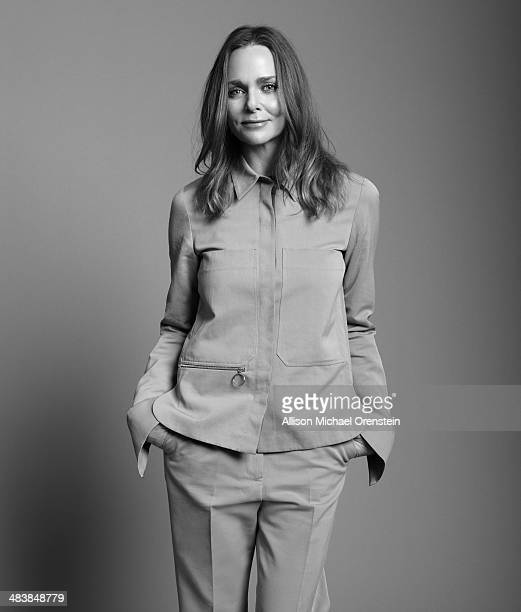 Fashion designer Stella McCartney is photographed for The Observer Newspaper on January 13 2014 in New York City