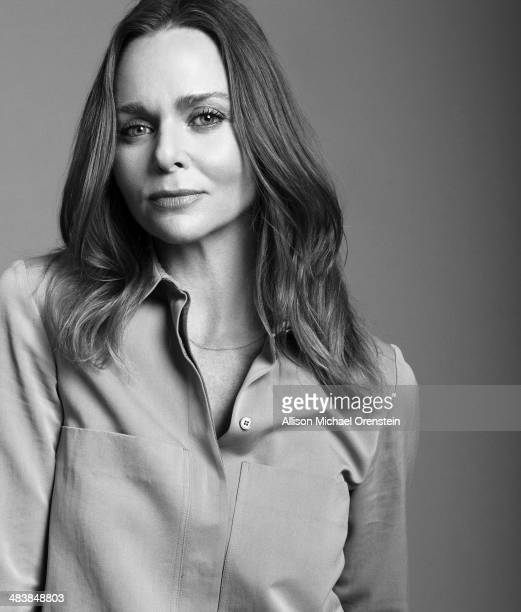 Fashion designer Stella McCartney is photographed for The Observer Newspaper on January 13 2014 in New York CityUBLISHED IMAGE