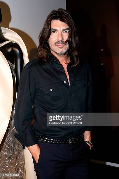 Fashion designer Stephane Rolland attends his show as part of Paris Fashion Week Haute Couture Fall/Winter 2015/2016 on July 7, 2015 in Paris, France.