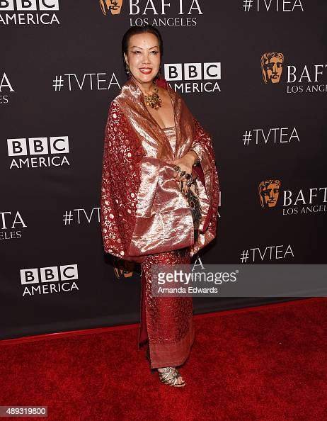 Fashion Designer Sue Wong Arrives At The Bafta Los Angeles Tv Tea News Photo Getty Images