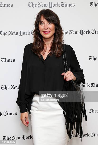 Fashion designer Tamara Mellon attends the New York Times Vanessa Friedman and Alexandra Jacobs welcome party on September 3 2014 in New York City