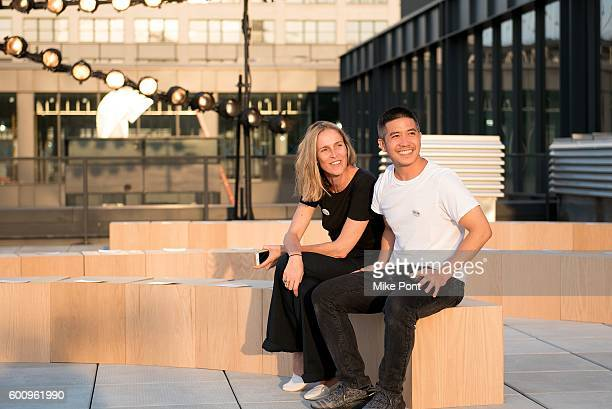 Fashion designer Thakoon Panichgul attends the Thakoon fashion show during September 2016 New York Fashion Week on September 8 2016 in New York City