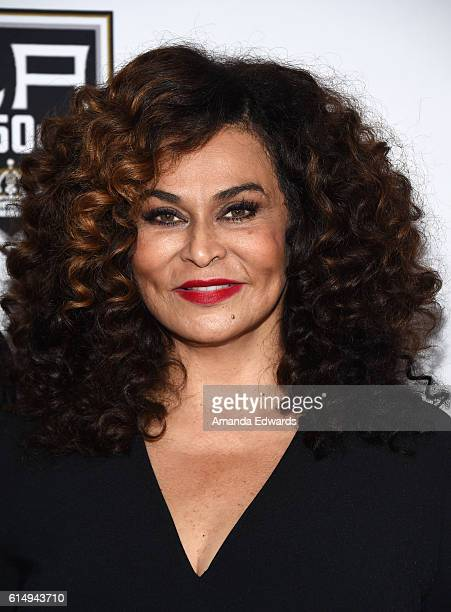 Fashion designer Tina Knowles arrives at the 2016 Children's Hospital Los Angeles Once Upon a Time Gala at the LA Live Event Deck on October 15 2016...