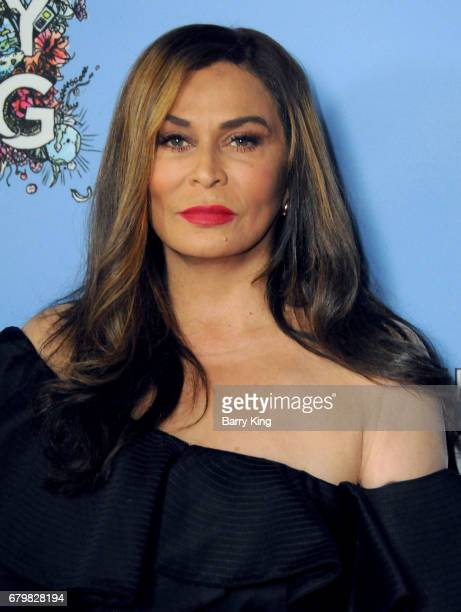 Fashion Designer Tina Knowles attends screening of Warner Bros Pictures' 'Everything Everything' at TCL Chinese Theatre on May 6 2017 in Hollywood...
