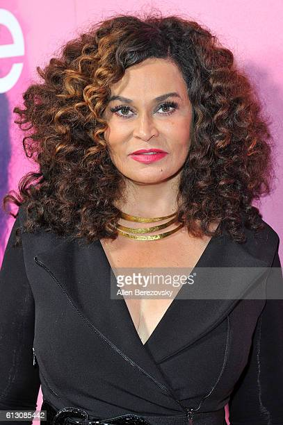 Fashion designer Tina Knowles attends the premiere of HBO's Insecure at Nate Holden Performing Arts Center on October 6 2016 in Los Angeles California