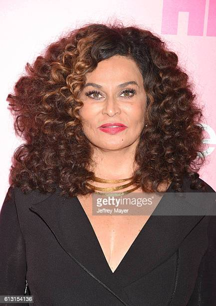 Fashion designer Tina Knowles attends the premiere of 'Insecure' at Nate Holden Performing Arts Center on October 6 2016 in Los Angeles California