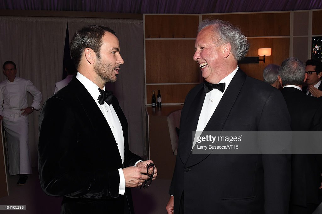 2015 Vanity Fair Oscar Party Hosted By Graydon Carter - Dinner